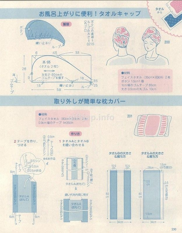 Полотенце для головы