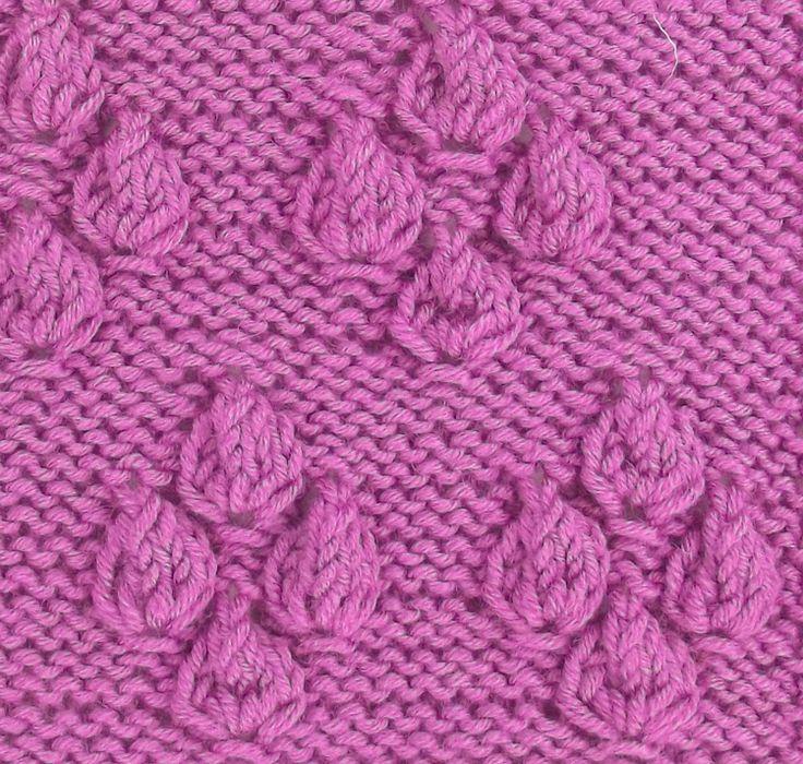 Japanese Flower Motif, a fun textured stitch found in the Japanese Textured stitches category.