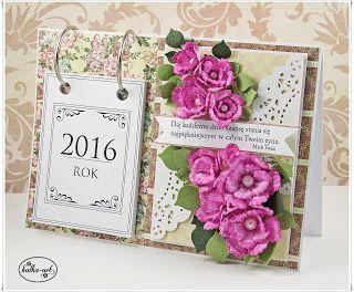 Kalendarz ręcznie robiony