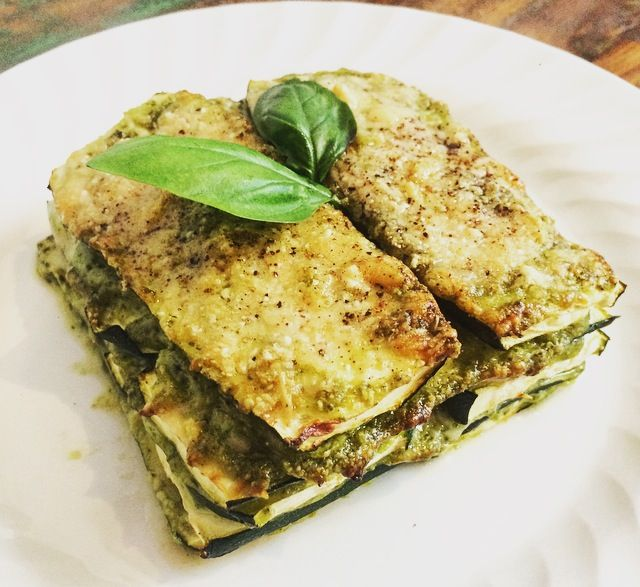 Courgette / zucchini stack by the Squirrel Sisters