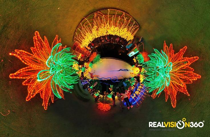 #Navidad en Medellin 2012. Recorrido virtual 360º #virtuatour #tinyplanet