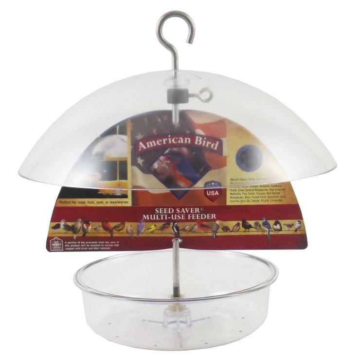 Droll Yankees American Bird  Seed Saver® Multi-Use feeder (AB-DF10). Made in the USA!