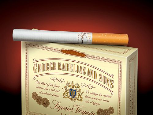 GEORGE KARELIAS AND SONS #Greek Cigarettes