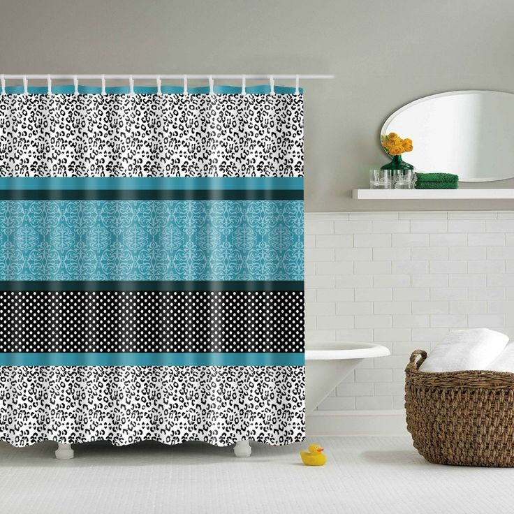 Lovely Hotel Style Shower Curtain  Inspiration