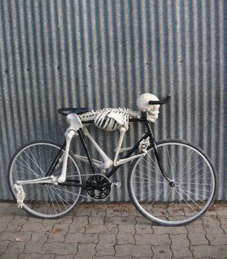 Bike para noche de brujas