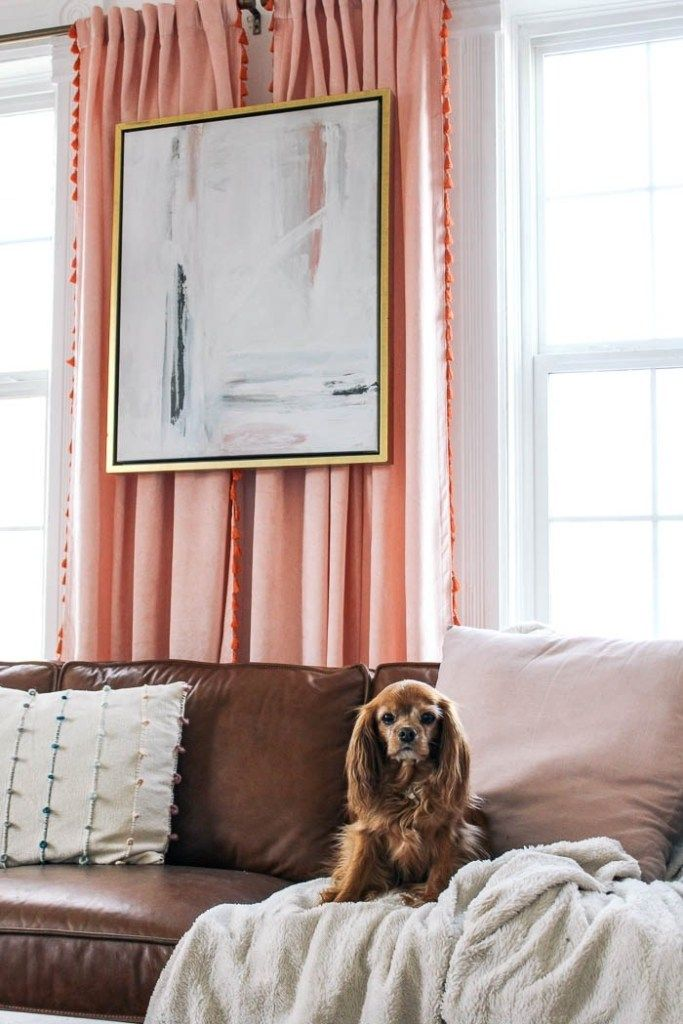 How To Float Art In Front Of Drapes At Home With Ashley Hanging Art Textured Wallpaper Happy Room