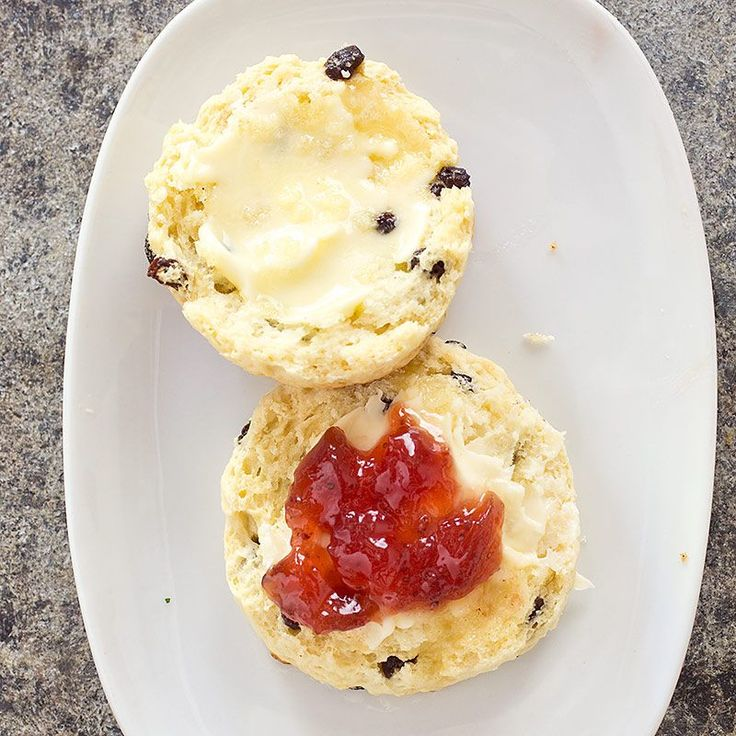 British-Style Currant Scones - Cook's Illustrated - these were good. Def more biscuit like. Used a 3 inch cutter, try 2 1/2 next time.