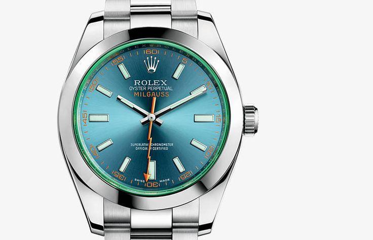 Rolex Milgauss Watch - Rolex Swiss Luxury Watches