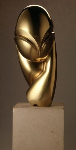 "Brancusi - ""Mademoiselle Pogany"" Eternally inspirational, one of my favourite…"