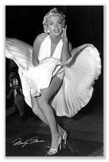 Marilyn Monroe Skirt Up 10