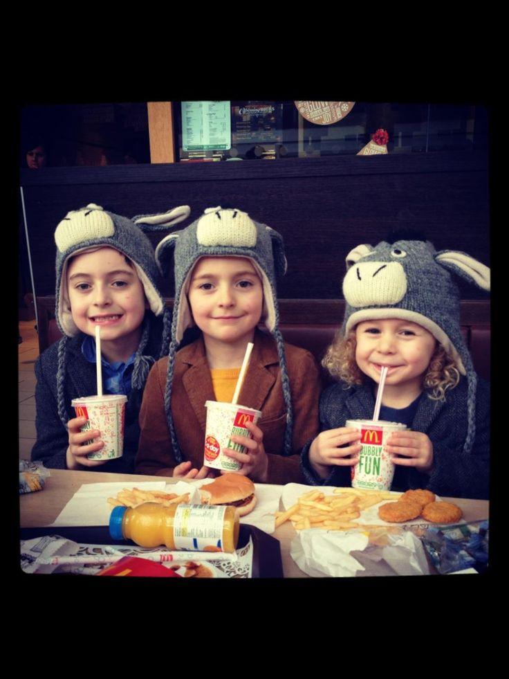 My three donkeys .... Woody beau