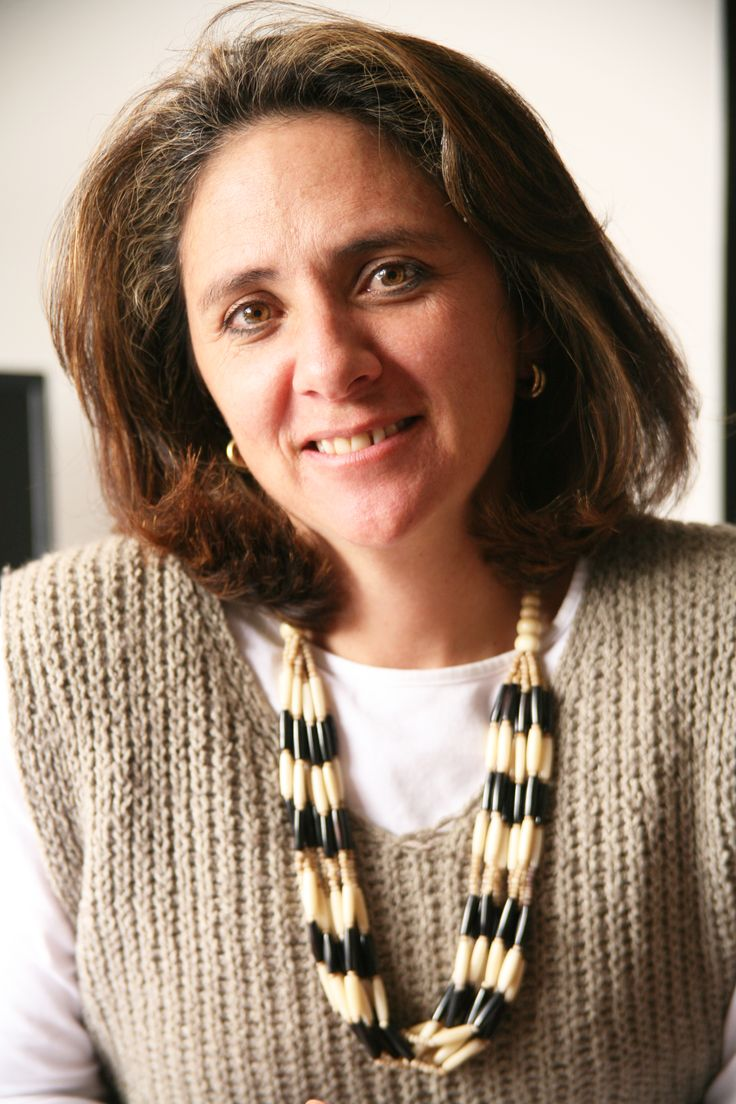Investigadora Maria Fernanda Gutierréz, Docente del Departamento de Microbiología de la Pontificia Universidad Javeriana