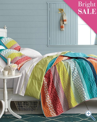 Coordinating quilt for the guest room?