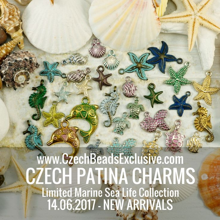 Dear beaders, Today we are very happy to show you our exclusive novelty – Czech Patina Charms! Today we have listed new Limited Marine Sea Life Collection, that will be a great addition to your beach/boho/marine/summer jewelry! All Czech Patina Charms are designed in Czech Republic. Marine Collection includes the [...]
