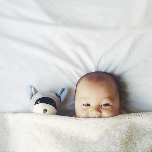 Strategien, um dem kleinen Schlaf durch die Nacht zu helfen javierc