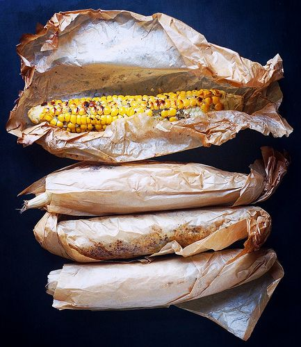 Запеченная кукуруза с брынзой | Salatshop ♥ You