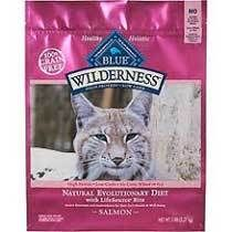 Essential: This cat food (or any other high protein, grain free premium pet food) is best for large, working (farm) cats or strays who are skinny and have a skin sensitivity. Blue Buffalo Wilderness Salmon Cat Food 5 lb. | Cat | Pet Supermarket