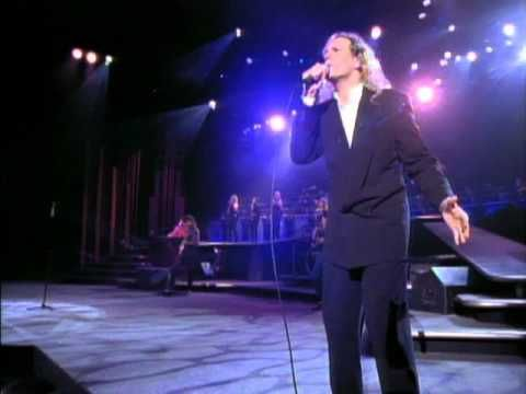 Michael Bolton - To Love Somebody  I recently saw his show and he sounds just as good as he did back when this video was made. He is fabulous!