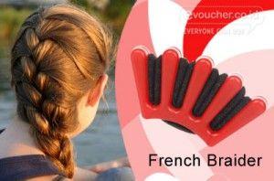 French Braider Alat Yang Membantu & Memudahkan Dirimu Mendapatkan Model Rambut Kepang Yang Lebih Rapih Hanya Rp.39,000  - www.evoucher.co.id #Promo #Diskon #Jual  Klik > http://evoucher.co.id/deal/French-Braider  Dengan French Braid Clip, Anda dapat merancang gaya rambut kepang yang unik & Stylish sesuai dengan selera Anda sendiri, hasil kepang lebih rapih, sempurna dan mudah.  pengiriman mulai 2014-05-16