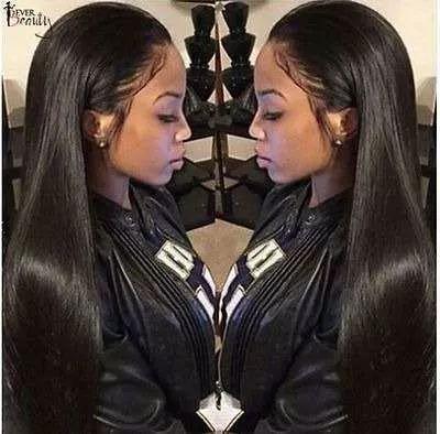 250% densidad encaje frontal humano pelucas brasileña del pe