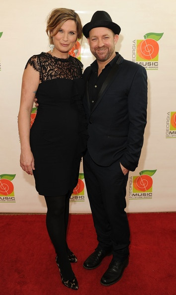 Jennifer and Kristian walk the Red Carpet before the 34th Annual GA Music Hall of Fame Awards Concert and Show at Cobb Energy Center in Atlanta, GA.