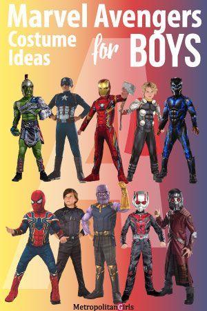 Marvel Avengers Tween Boy Costume Ideas for Halloween *~Decor