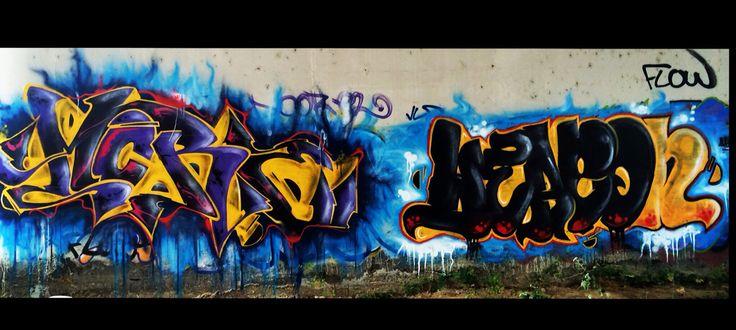 Graffiti production!