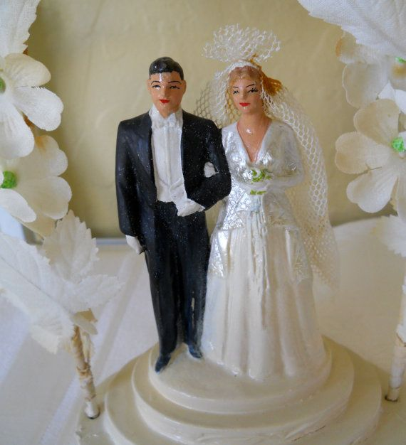 Glass Temple Cake Toppers
