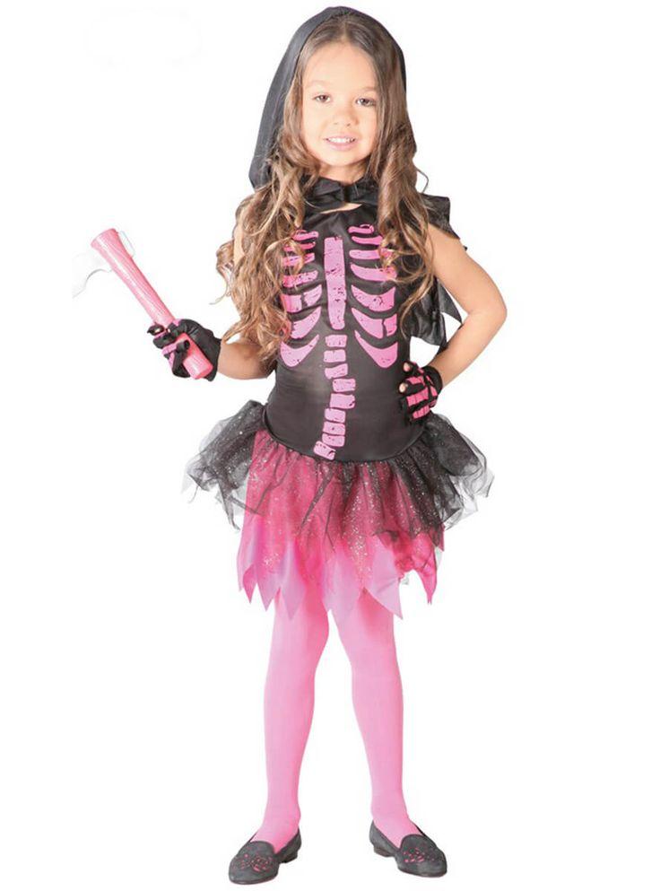 Disfraz de Rosita el esqueleto para niña | Comprar