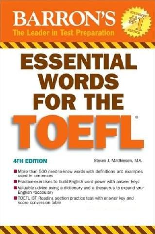 33 best books pdf images on pinterest books english grammar essential words for the toefl fandeluxe Gallery