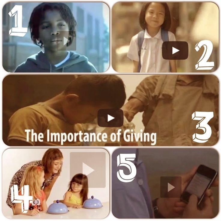AYUDA PARA MAESTROS: 5 vídeos cortos para educar en valores
