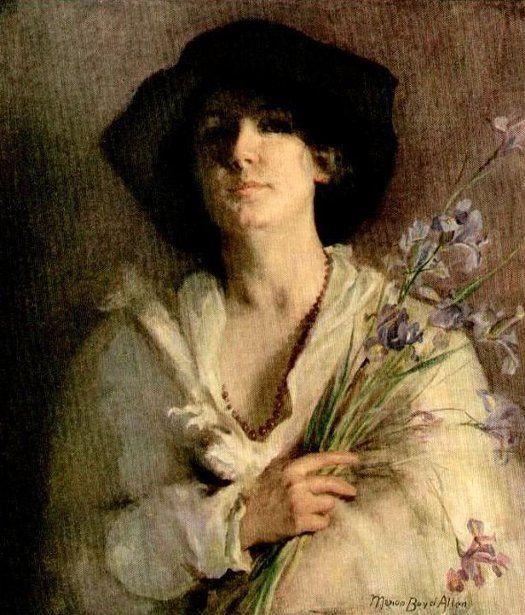 Iris - Marion Boyd Allen (1862 – 1941)