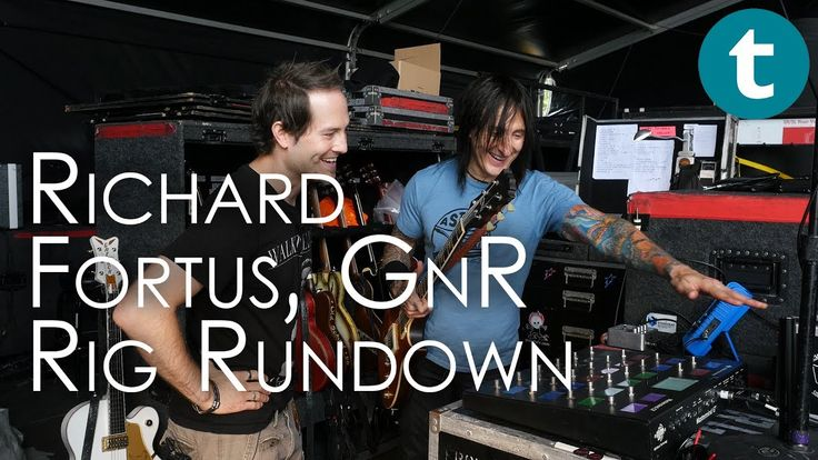 Rig Rundown | Richard Fortus | Guns N' Roses  #gunsnroses #fortus #rock #rocknroll #gear #accessories #rig #guitar #live #concert