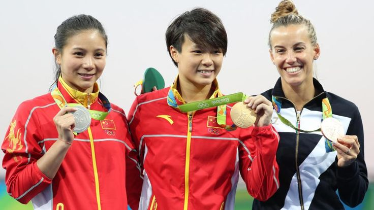 China takes gold and silver in women's individual 3m springboard ...