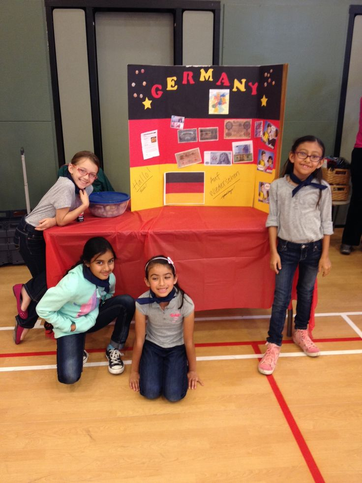 Germany for thinking day