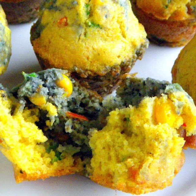 Inspired By eRecipeCards: I LOVE these Blue and Yellow Corn Muffins from Bobby Flay's Mesa Grill