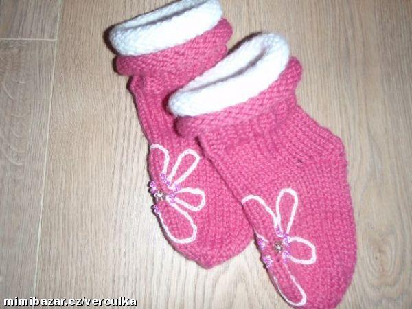 Návod na pletené ponožky na Vaše přání