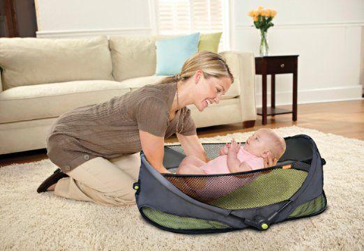【楽天市場】人気!ブリカ 携帯バシネット お出かけ 旅行用 赤ちゃん 携帯用ベット おりたたみ可能 出産祝い BRICA Fold 'n Go Travel Bassinet:アイディーリ輸入雑貨専門店