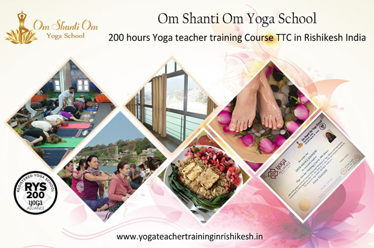 100 hour Yoga TTC teacher training in Rishikesh Om Shanti Om offers best 100 Hour Yoga teacher training course in Rishikesh. Start a yogic life with beginner 100 Hours-2 weeks residential Yoga TTC. http://yogateachertraininginrishikesh.in/