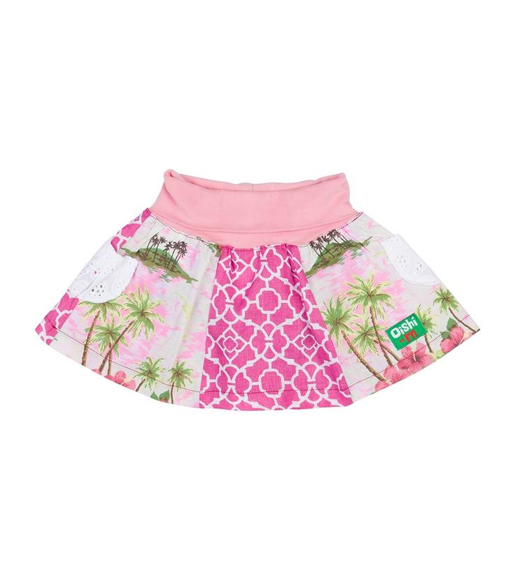 Leilani Skirt, Oishi-m Clothing for kids, Summer 2016, www.oishi-m.com