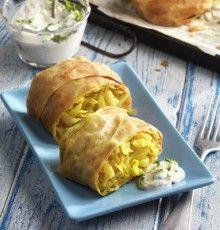 Ananászos-káposztás rétes curry-vel. A receptért kattints a képre!