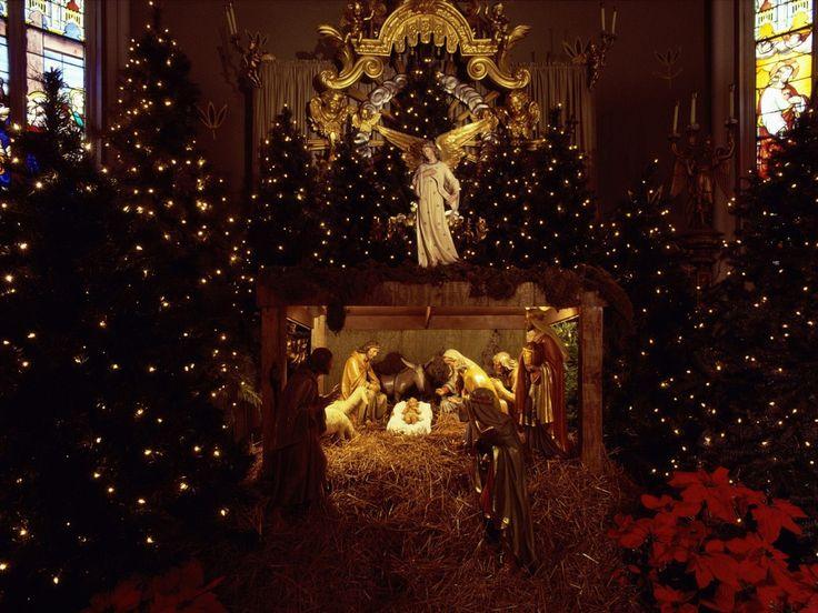 religious christmas scenes christmaswallpapersascene