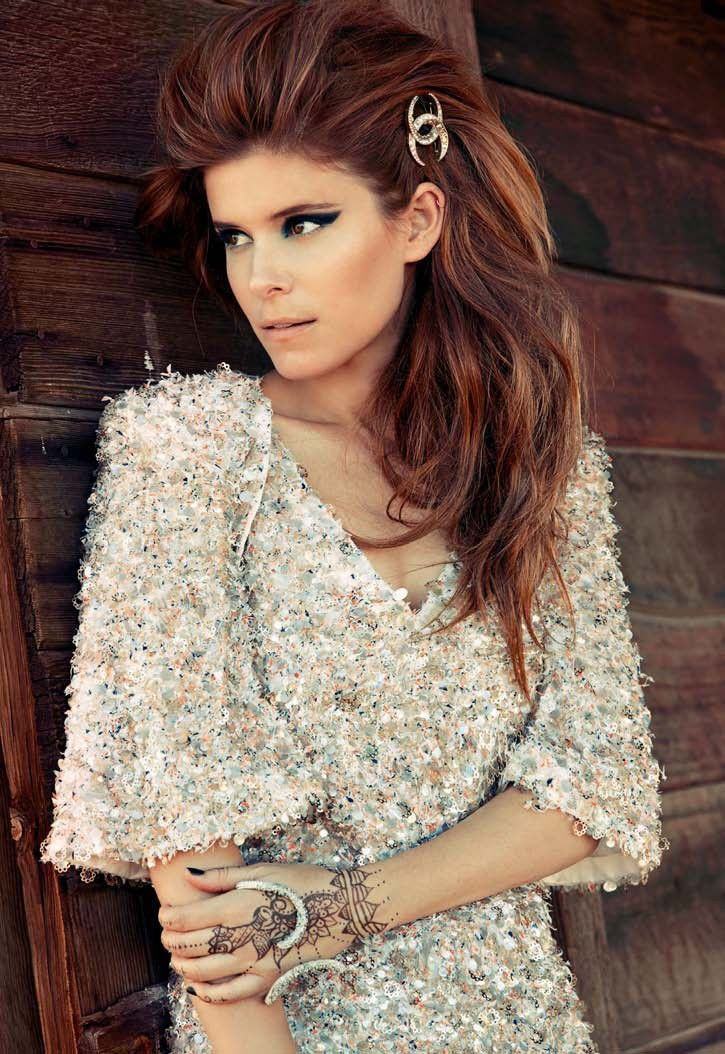 Kate Mara by John Russo for Harper's Bazaar