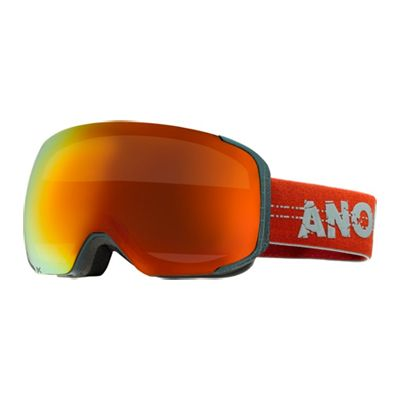 Anon M2 goggle in Crackle with Red Solex lens