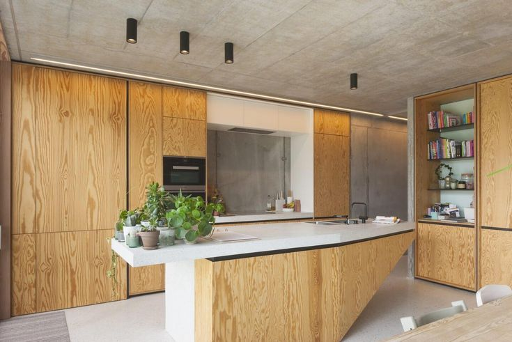 Lighting system helps creating the balance between the industrial and warm elements in the family home - CAANdesign   Architecture and home design blog