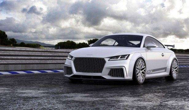 """Cars - Audi TT Quattro Sport Concept : """"l'autre"""" TT du salon de Genève ! - http://lesvoitures.fr/audi-tt-quattro-sport-concept/"""