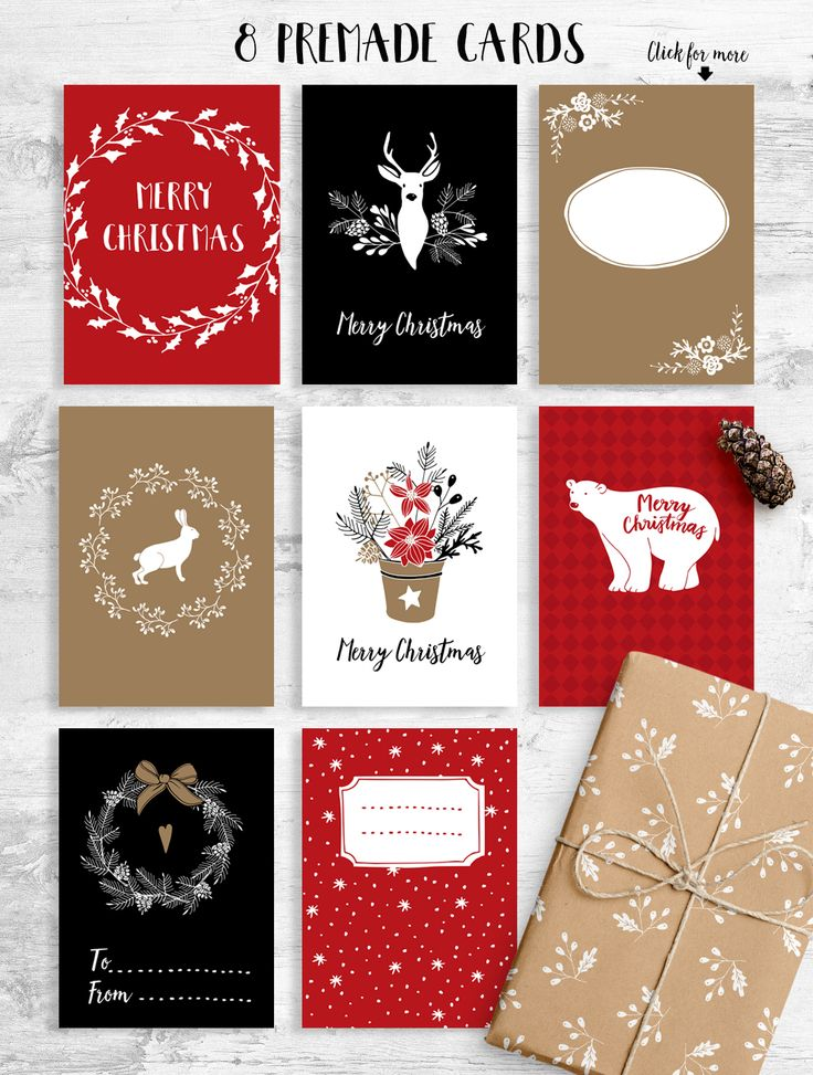 White Christmas by Tabita's shop on @creativemarket