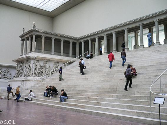 Altar de pergamo. Museo de pergamo en Berlin
