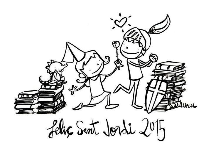 dia del llibre sant jordi joan turu - Cerca amb Google
