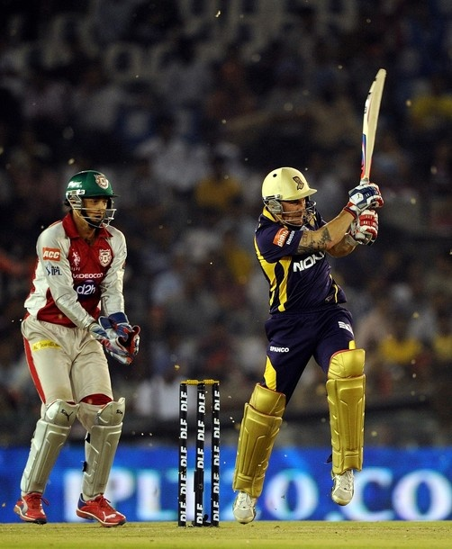 Captain Gautam Gambhir struck a neat half-century as Kolkata Knight Riders scored an easy eight-wicket win over Kings XI Punjab in the Indian Premier League on Wednesday.